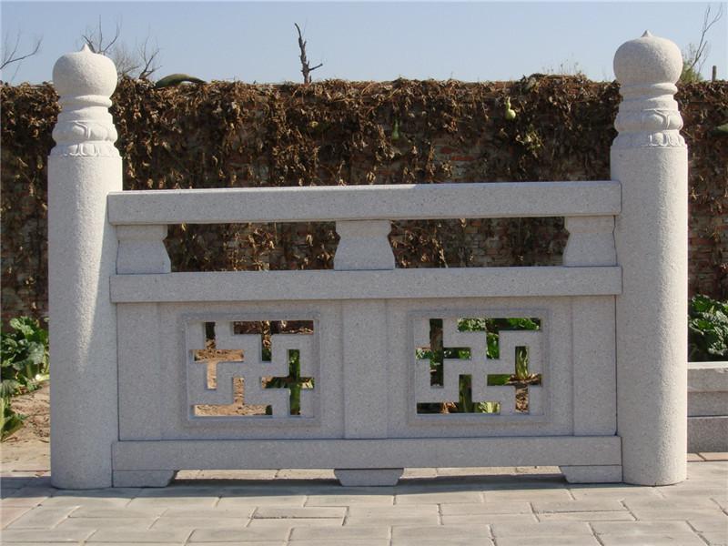 中式石欄桿