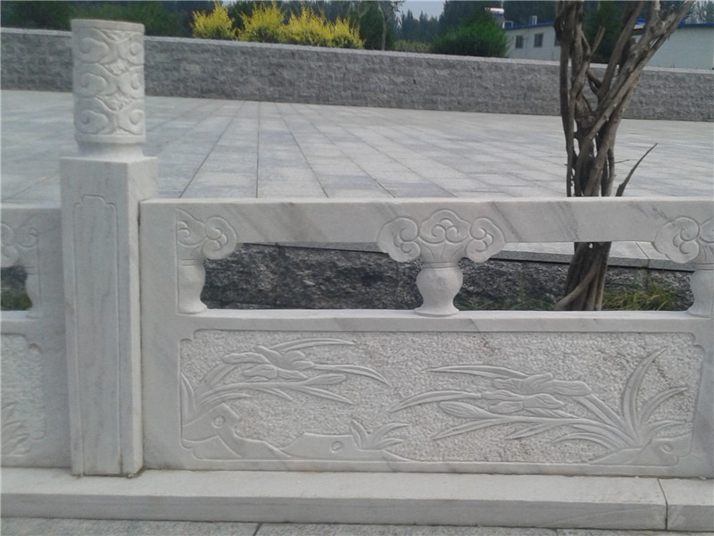 青石石雕欄桿